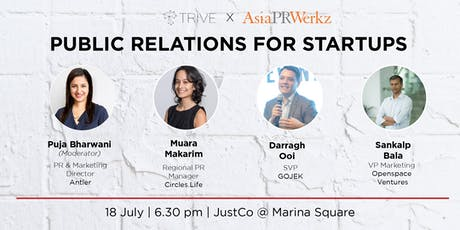 Panel Discussion: Public Relations for Start-ups tickets