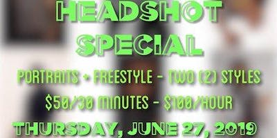 PRISM Collaborative Presents: Headshot Special