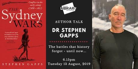 AUTHOR TALK: Dr Stephen Gapps tickets