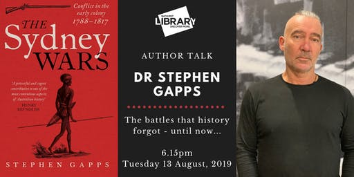 AUTHOR TALK: Dr Stephen Gapps