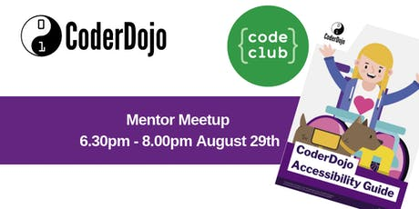 CoderDojo/ Code Club Meetup: Theme Accessibility and Inclusivity tickets