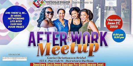 Spectacular Magazine After Work Meet-Up tickets