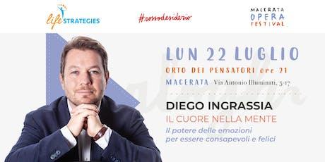 IL CUORE NELLA MENTE con Diego Ingrassia biglietti
