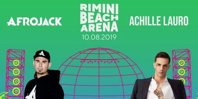 Concerto Afrojack & Achille Lauro Rimini Beach Arena   Offerta Riccione Beach Hotel