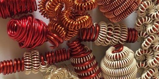 Kids Home Ed Jewellery Workshop - Wire Bead Making