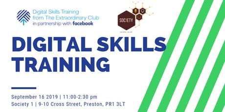 Digital Skills Training at Society 1  tickets