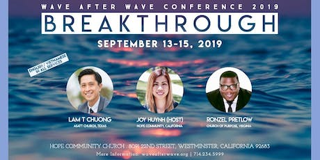 Wave After Wave Conference 2019 tickets