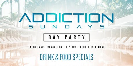 ADDICTION SUNDAYS FREE GUESTLIST tickets