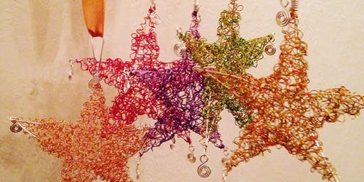 Kids Home Ed Jewellery Workshop - Wire Hanging Star