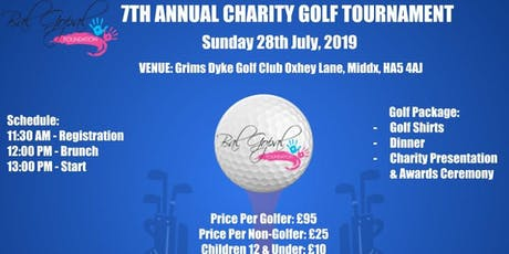 7th Annual Charity Golf Event tickets