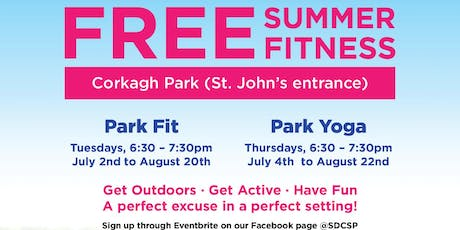 Park Fit & Park Yoga (print your ticket) tickets