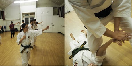 **Free** Month Pass (July)- Self-Defence Class in Wimbledon (Japanese Martial Arts - Shorinji Kempo) tickets
