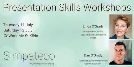 Presentation Skills Workshop tickets