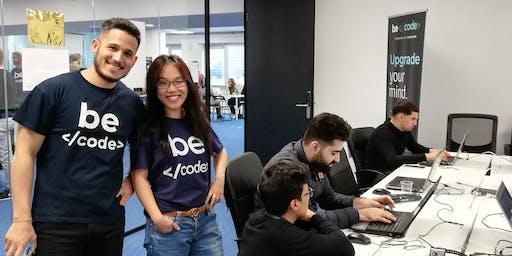 Finale Infosessie BeCode @The Beacon Antwerpen