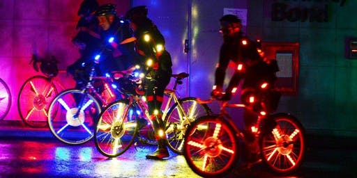 Nothing But Neon Ride: Cambridge Bike Party - July Ride