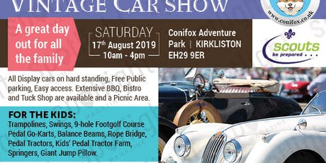 Charity Classic and Vintage Car Show tickets