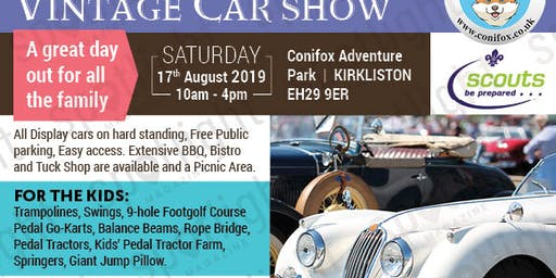 Charity Classic and Vintage Car Show