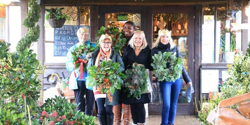 Holly Wreath Workshop With Jacky & Peter | 6th Workshop