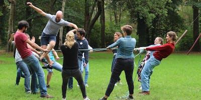 Opleiding teambuilding met kinderen en jongeren