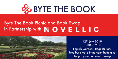 Byte The Book Picnic and Book Swap in Partnership with Novellic tickets