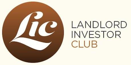 Landlord Investor Club tickets