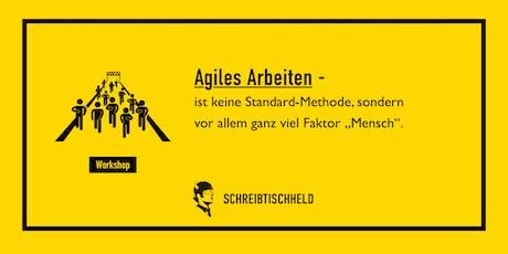 Workshop Agiles Arbeiten mit Kai-Thomas Krause // SCHREIBTISCHHELD Tickets