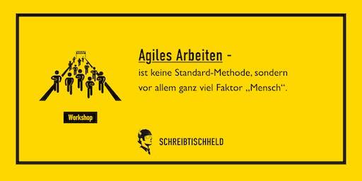 Workshop Agiles Arbeiten mit Kai-Thomas Krause // SCHREIBTISCHHELD