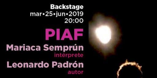 Backstage PIAF