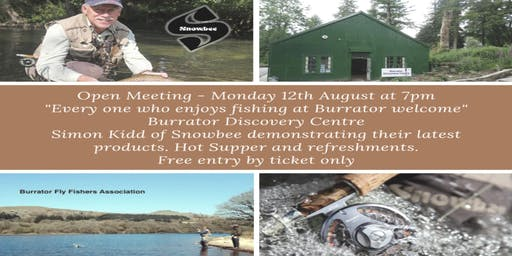 Burrator Fly Fishers Association Open Meeting