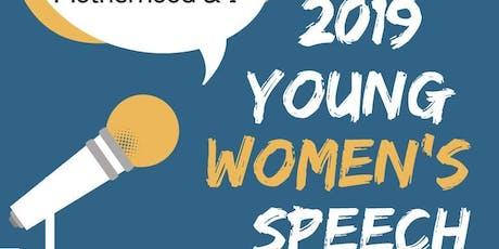 YOUNG WOMEN'S SPEECH CONTEST -UK  tickets