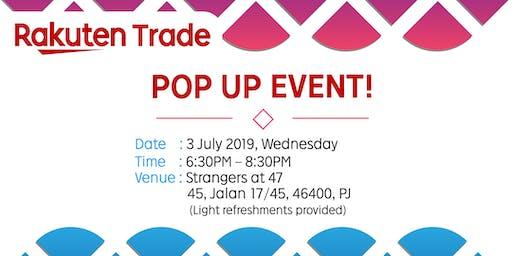 Pop Up Event @ Strangers at 47, Petaling Jaya