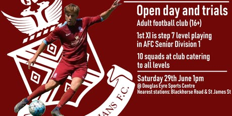 Open Day and Trials tickets