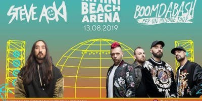 Concerto Steve Aoki & Boomdabash Rimini Beach Arena   13 Agosto 2019   Offerta Riccione Beach Hotel