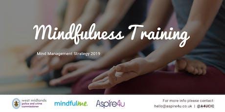 Mindfulness Training (Level 1) - Mind Management Strategy 2019  tickets