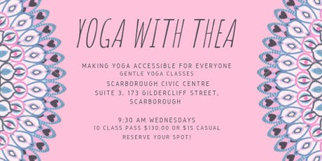 Gentle Yoga with Thea tickets