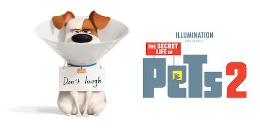 Movie: The Secret Life of Pets 2 at Regal Union Square Stadium in New York