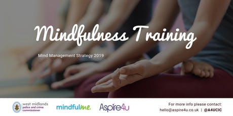 Mindfulness Awareness (Level 1) - Mind Management Strategy 2019 tickets
