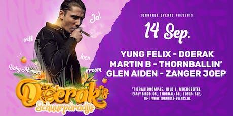 Doerak's Schuurparadijs • Yung Felix tickets