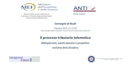 Il processo tributario telematico biglietti