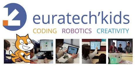 EuraTech'Kids - Stage coding 2j avec SCRATCH billets