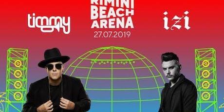 Timmy Trumpet & Izi Rimini Beach Arena | 27 Luglio 2019 | Offerta Riccione Beach Hotel biglietti