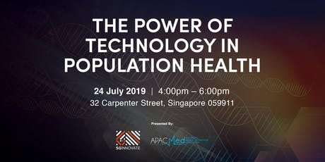 The Power of Technology in Population Health tickets
