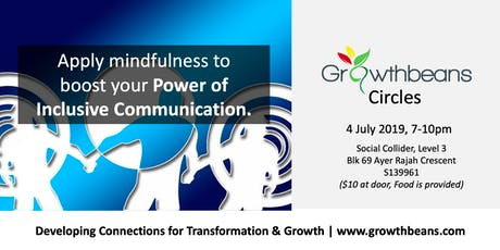 Apply Mindfulness to Boost your Power of Inclusive Communication tickets