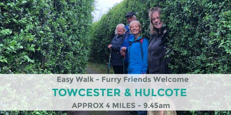 TOWCESTER & HULCOTE STROLL | 4 MILES | NORTHANTS WALK tickets