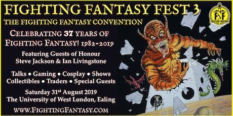 Fighting Fantasy Fest 3 tickets