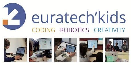 EuraTech'Kids - Contruction et programmation de robot avec  LEGO Wedo billets