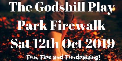 Godshill Play Park Firewalk 2019