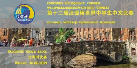 concours d'éloquence chinoise finale belge | welsprekendheidswedstrijd Chinees Belgische finale tickets