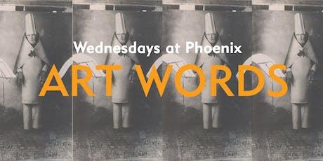 Art Words (10 July) tickets
