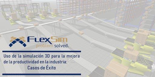 FlexSim: Simulación de procesos y casos de éxito